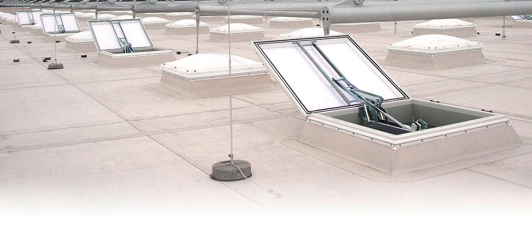 Högkvalitativa takljuskupoler